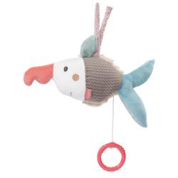 Peluche musical poisson-scie