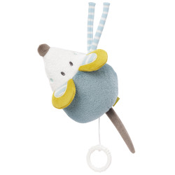 Peluche musicale souris Little Castle