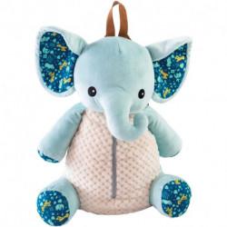 SAC A DOS ELEPHANT ZANIMO 40CM