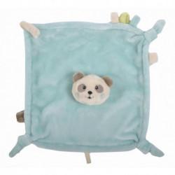 Doudou carré  Panda