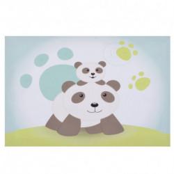 Toile lumineuse Panda