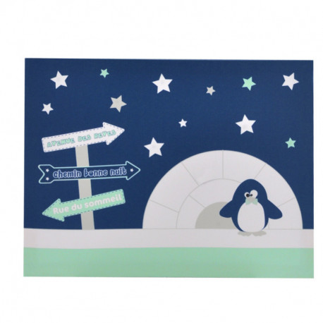 Toile lumineuse Pingou