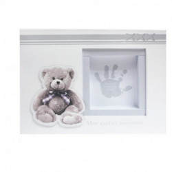 Coffret kit empreinte argile My little bear