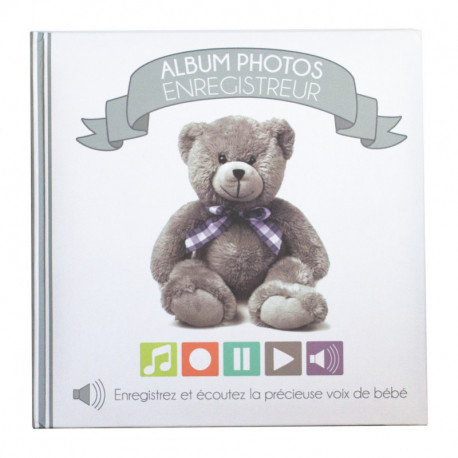 Album photos enregistreur My little bear