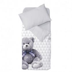 Parure Housse de couette + taie d'oreiller My little bear