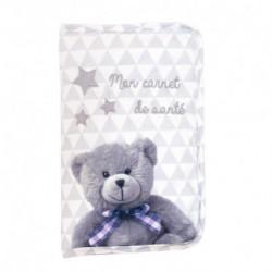 Protège carnet de santé + fermeture ZIP My little bear