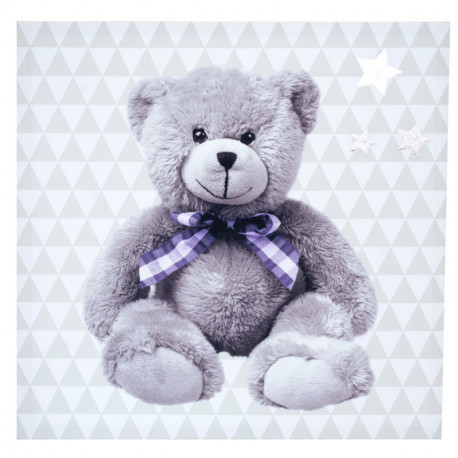 Toile lumineuse scintillante - Piles fournies My little bear