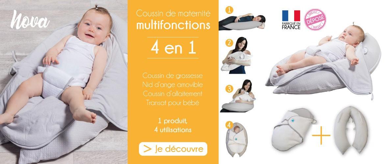 Nova, coussin de maternité multifonctions